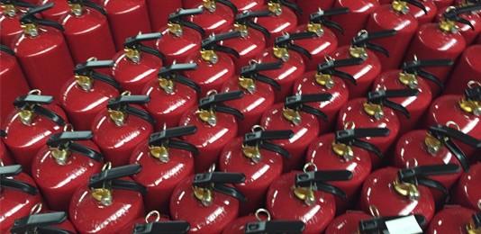 Alquiler de extintores, una buena solución para actividades efímeras