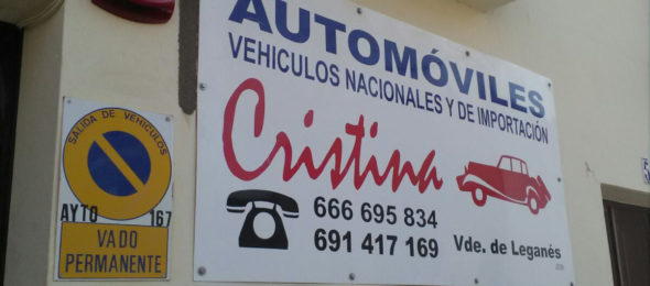 Taller mecánico de vehículos Cristina Perera López
