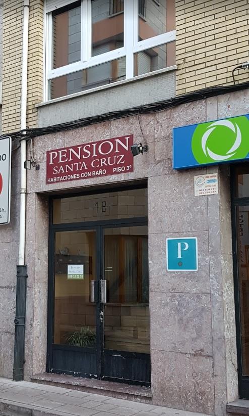 Mantenimiento en Pensión Santa Cruz