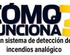 ¿Cómo funciona un sistema de detección de incendios analógico?