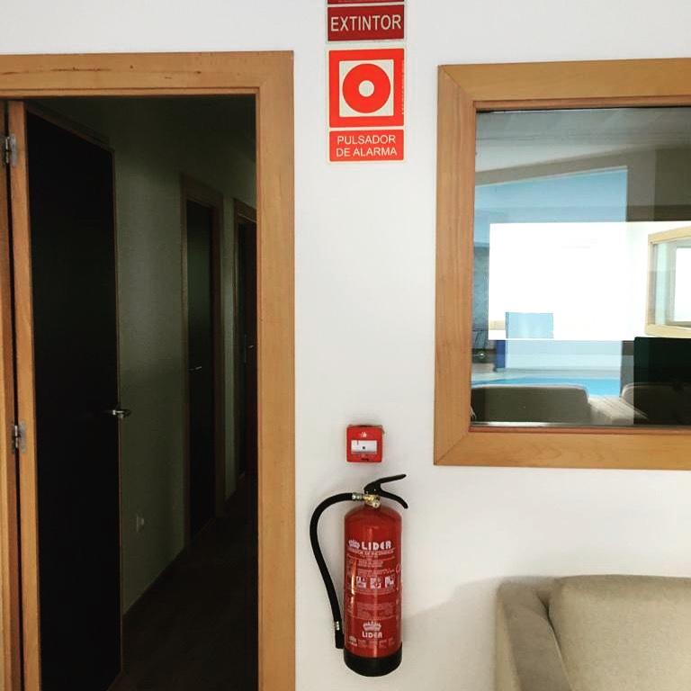 Revisiones anuales de extintores